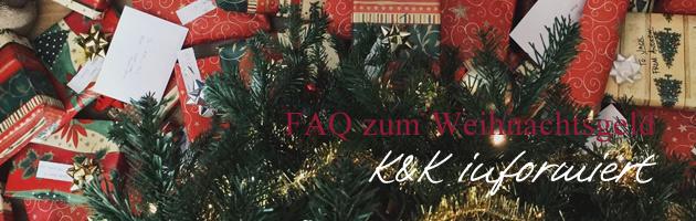 FAQ Weihnachtsgeld