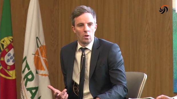 Rechtsanwalt Miguel Krag - ANTRAM Kongress in Portugal